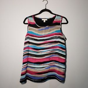 Dana Buckman sleeveless blouse